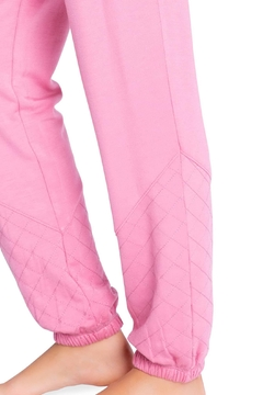 The Dressing Room Quilted-Detail Lounge Pants - Alternate List Image