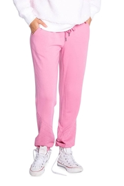 The Dressing Room Quilted-Detail Lounge Pants - Product Mini Image