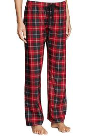 The Dressing Room Red Plaid Bottoms - Product Mini Image
