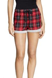 The Dressing Room Red Plaid Pj - Front cropped