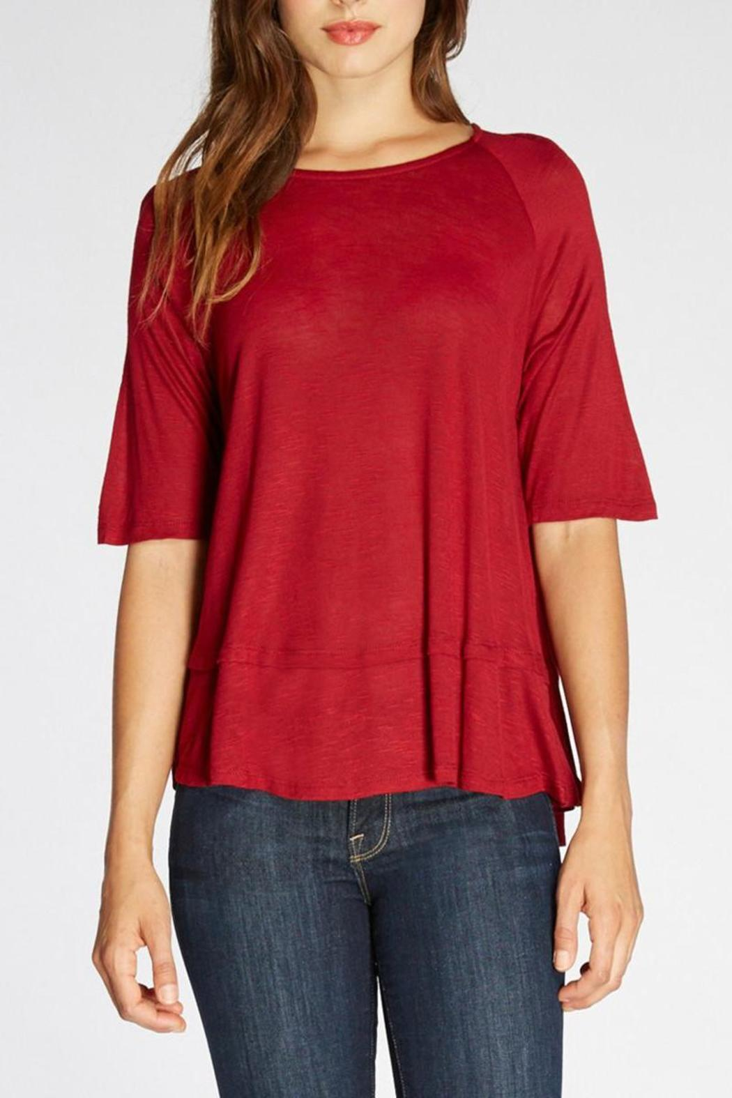 The Dressing Room Relaxed Fit Top - Front Cropped Image