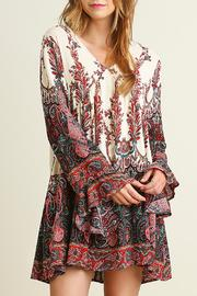 The Dressing Room Richly Printed Dress - Product Mini Image