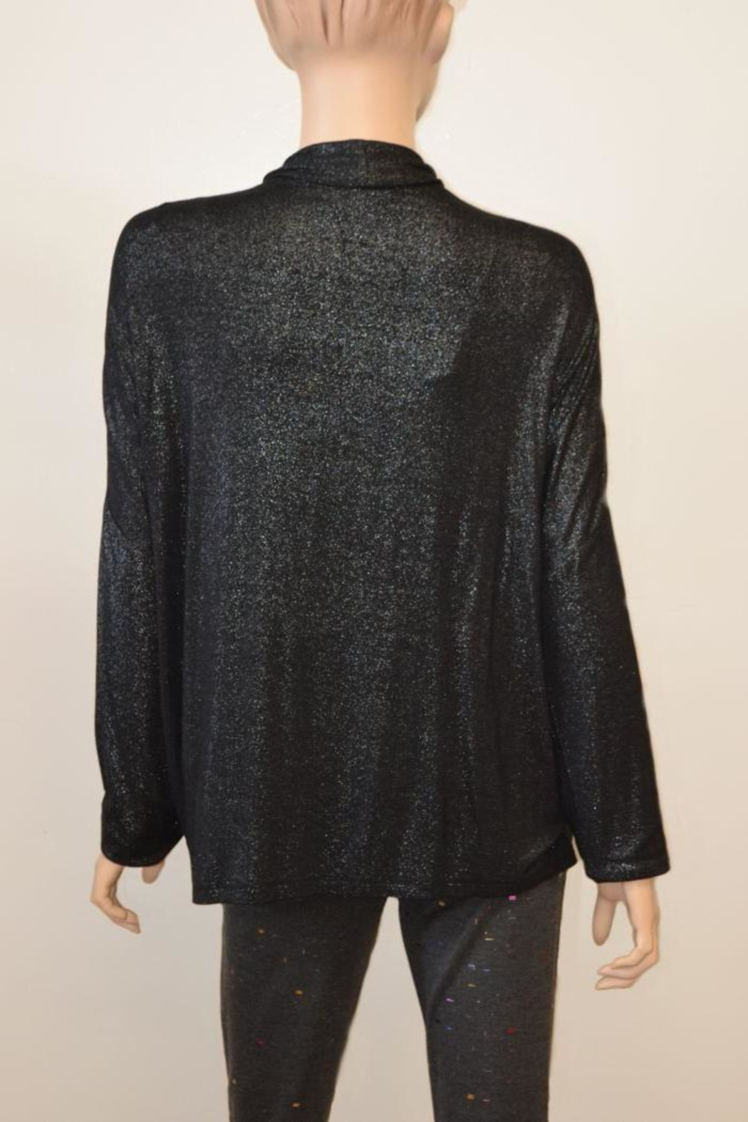 The Dressing Room Silver Shimmer Coverup - Front Full Image