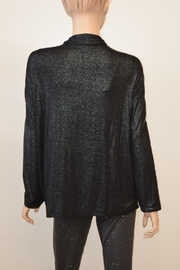 The Dressing Room Silver Shimmer Coverup - Front full body