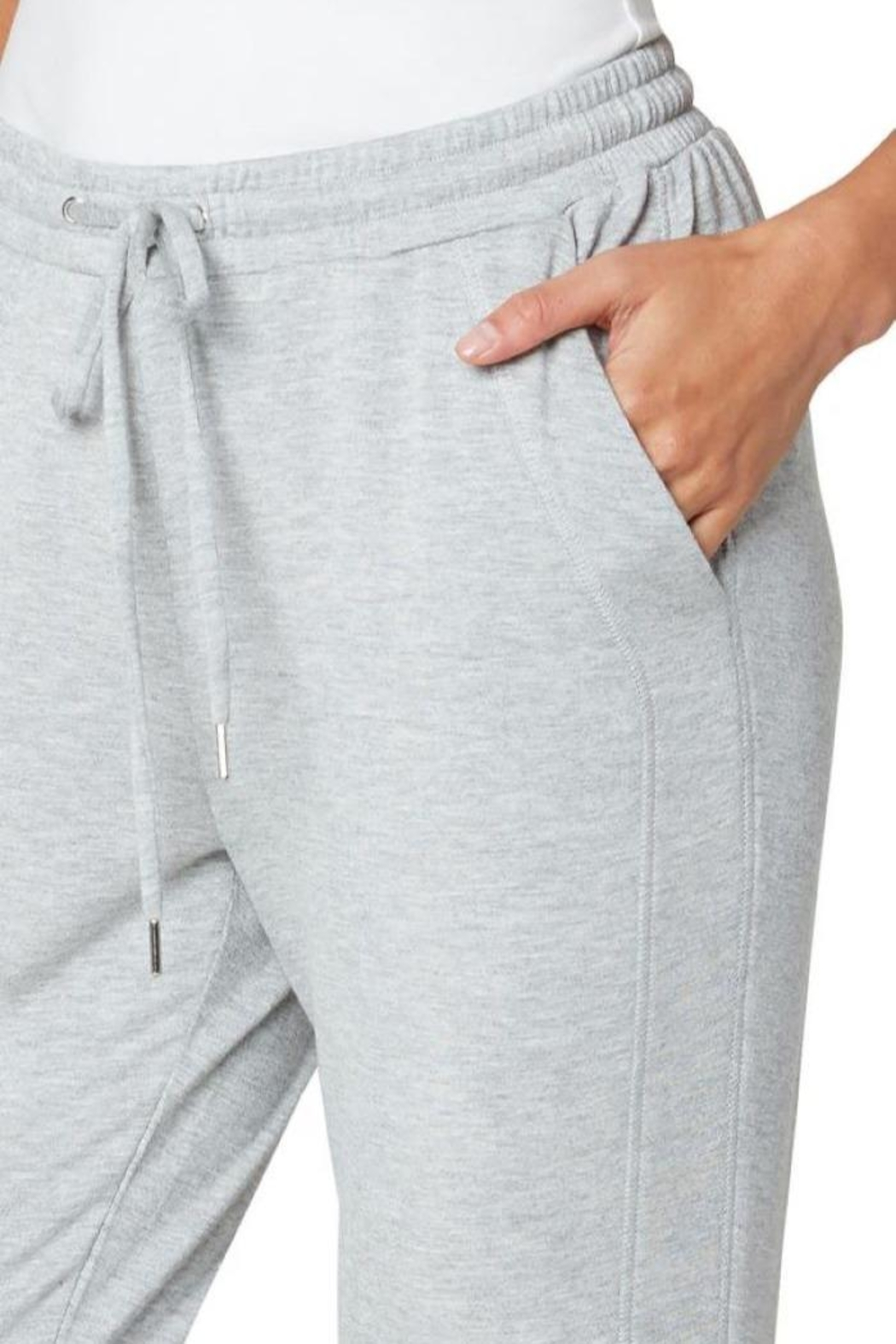 The Dressing Room Soft Drawstring Jogger - Side Cropped Image