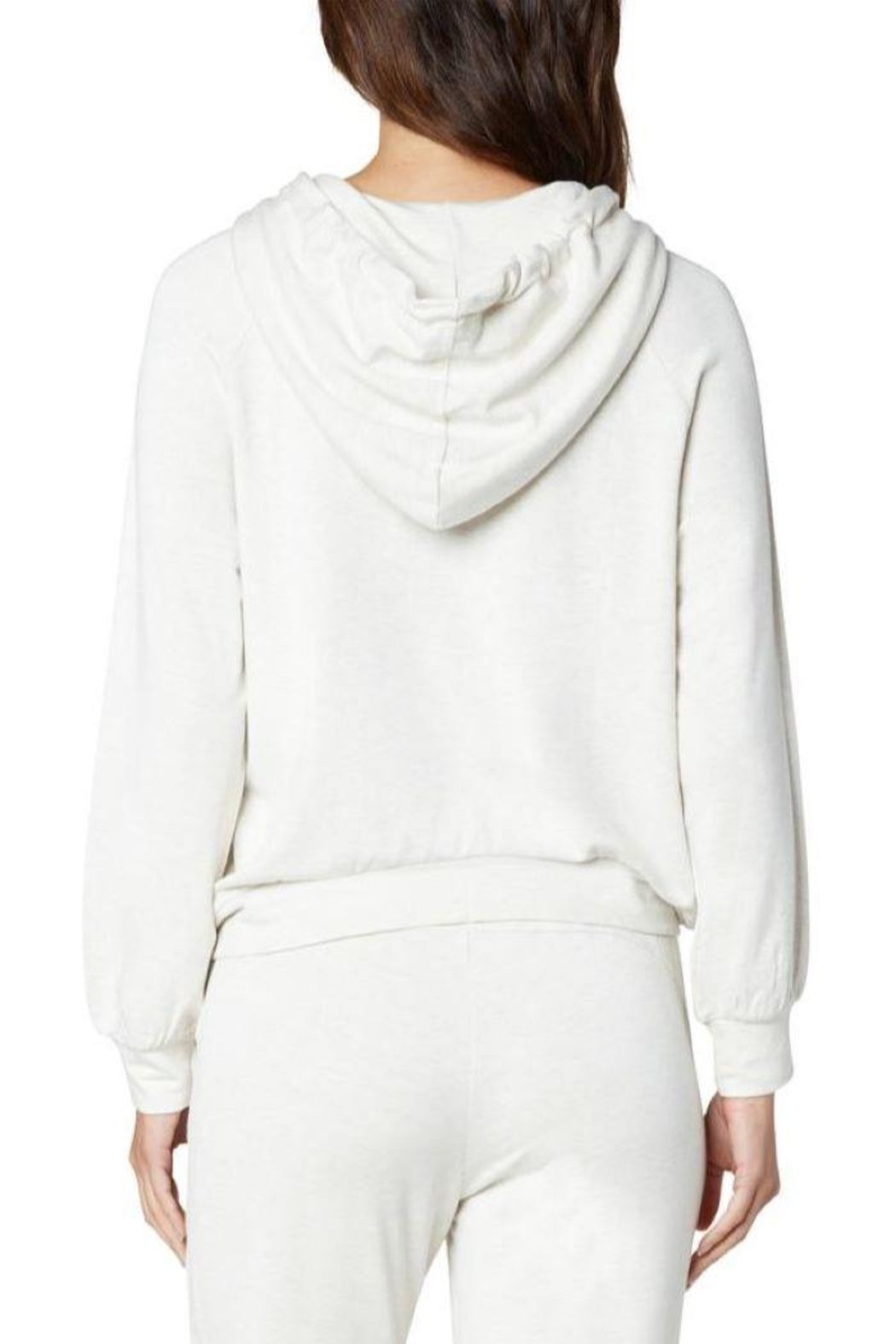 The Dressing Room Soft Zip Hoodie - Front Full Image