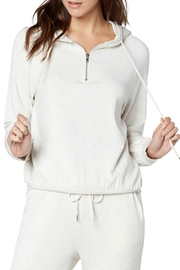 The Dressing Room Soft Zip Hoodie - Front cropped