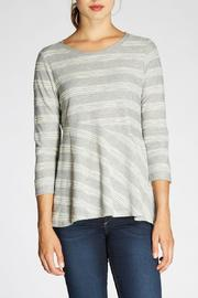 The Dressing Room Textured Stripe Tee - Product Mini Image