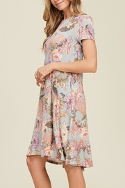 The Dressing Room Vintage-Look Floral Dress - Front full body