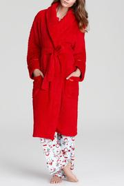 The Dressing Room Waffle Robe Red - Product Mini Image