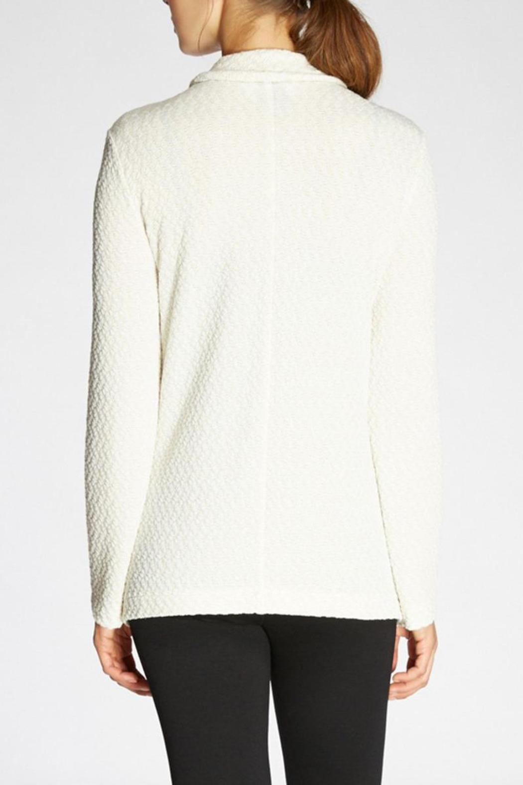 The Dressisng Room Metallic Knit Jacket - Side Cropped Image