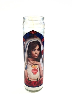 Shoptiques Product: Michelle Obama Prayer-Candle