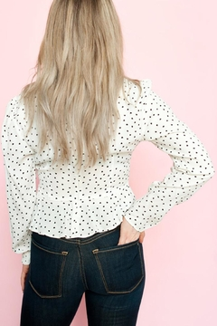 The Fifth Label Amore Peplum Heart Top - Alternate List Image