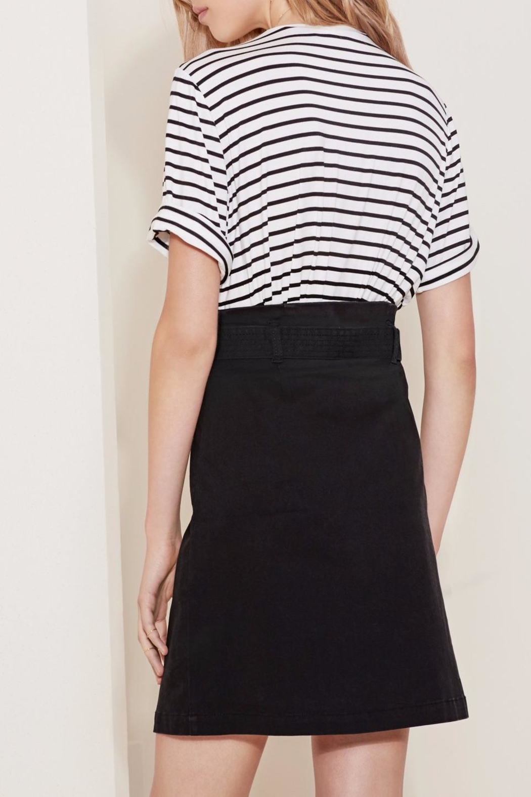 The Fifth Label Belted Wrap Skirt - Side Cropped Image