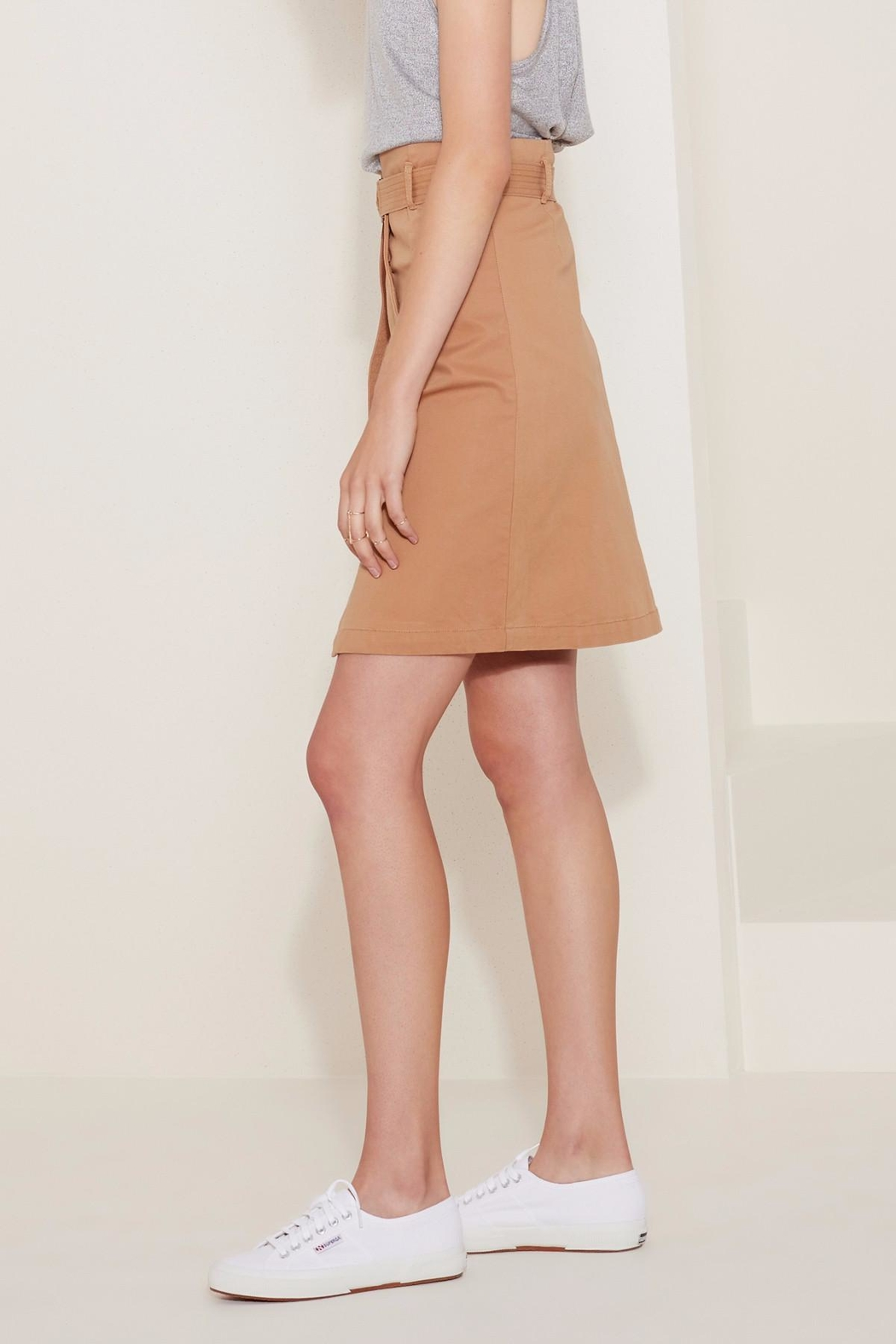 The Fifth Label Belted Wrap Skirt - Front Full Image