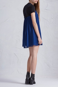 The Fifth Label Cross Back Mini Dress - Alternate List Image