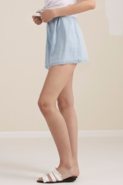 The Fifth Label Flared Denim Shorts - Front full body