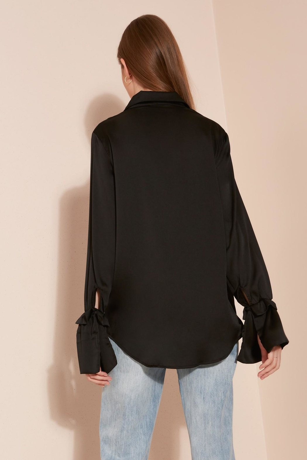 The Fifth Label Frilled Sleeve Shirt - Front Full Image