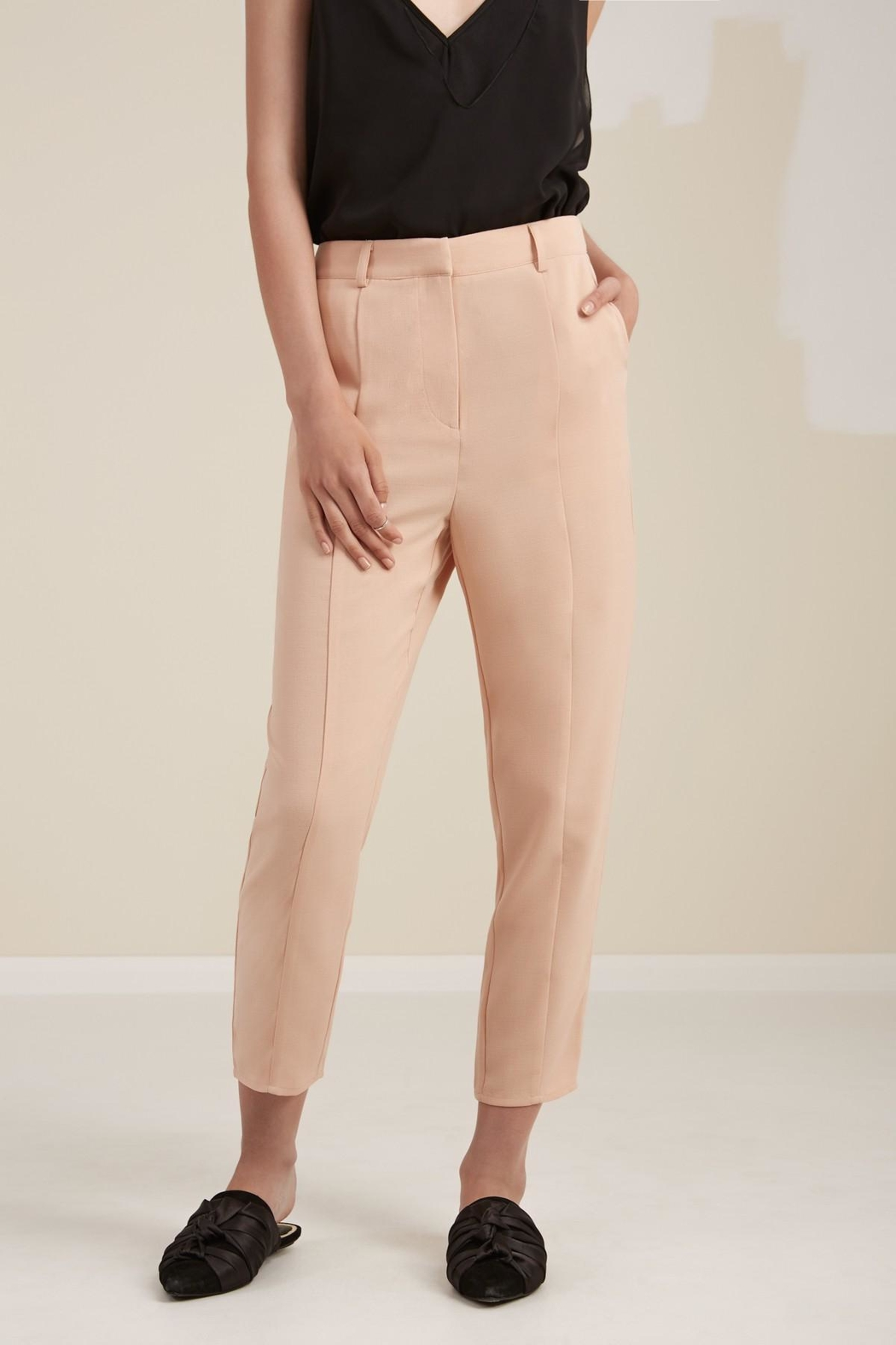 The Fifth Label Front-Seam Tapered Pants - Back Cropped Image