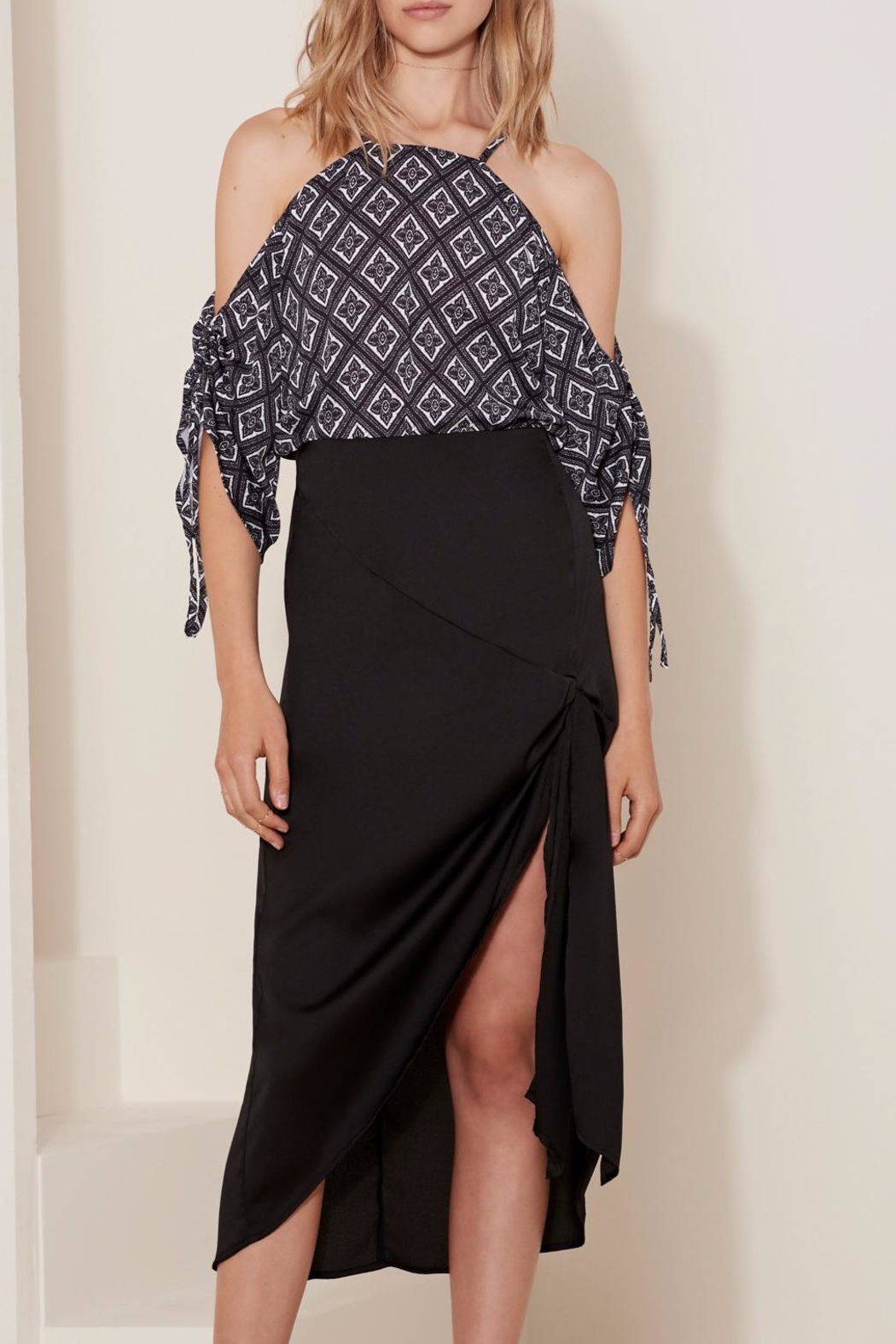 The Fifth Label Knot Wrap Skirt - Main Image