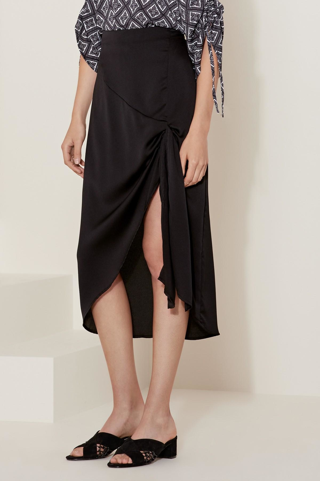 The Fifth Label Knot Wrap Skirt - Front Full Image