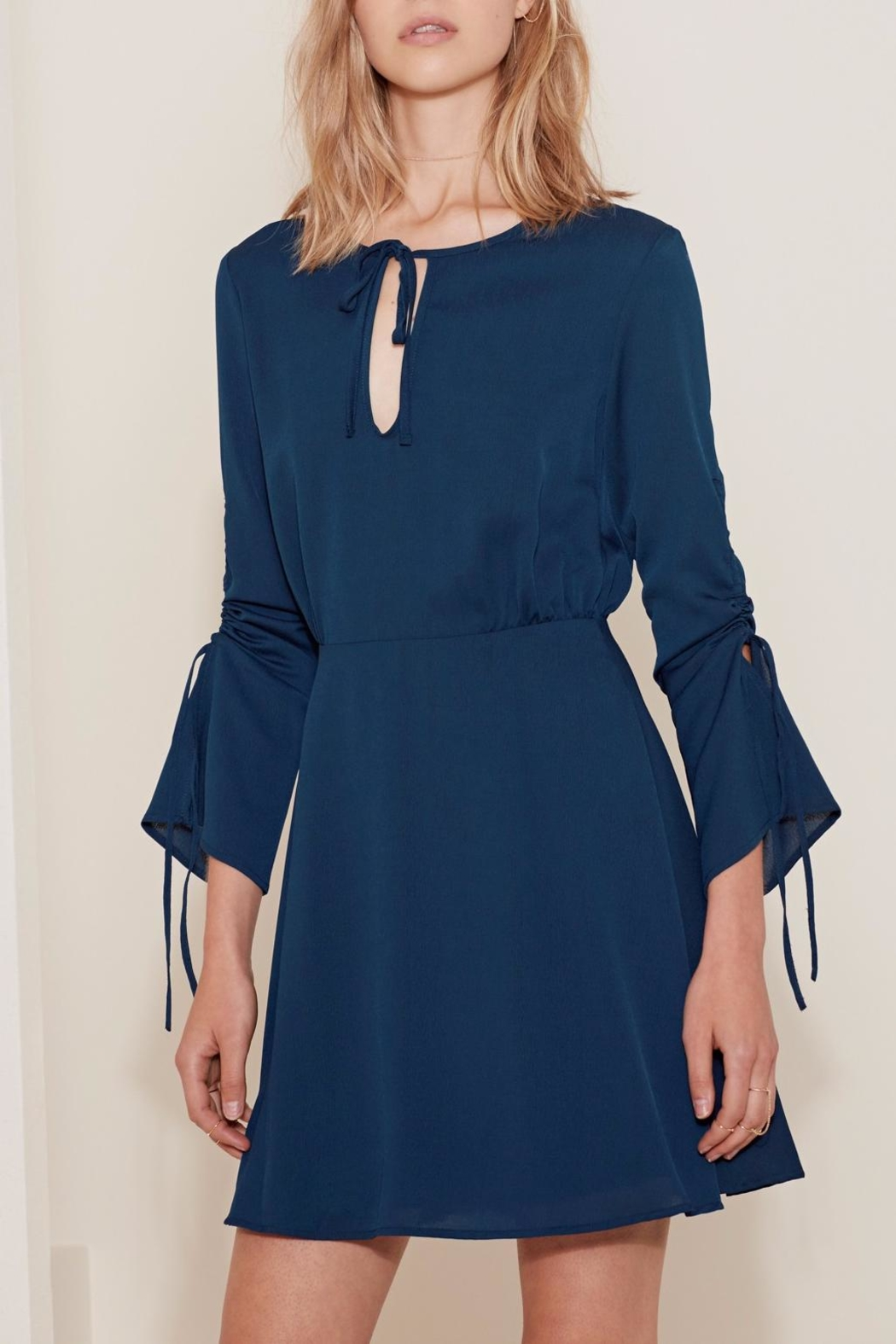The Fifth Label Tie String Dress - Front Cropped Image