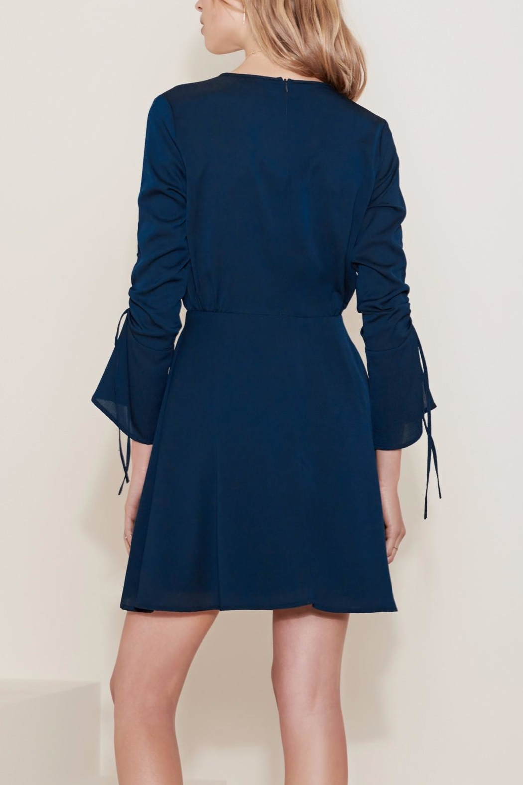 The Fifth Label Tie String Dress - Side Cropped Image
