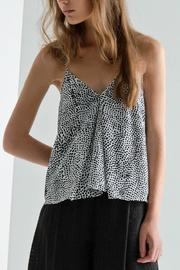 The Fifth Label Polka Dot Top - Front cropped