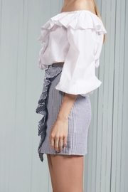 The Fifth Label Ruffle Striped Skirt - Front full body