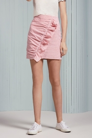 The Fifth Label Ruffle Striped Skirt - Product Mini Image