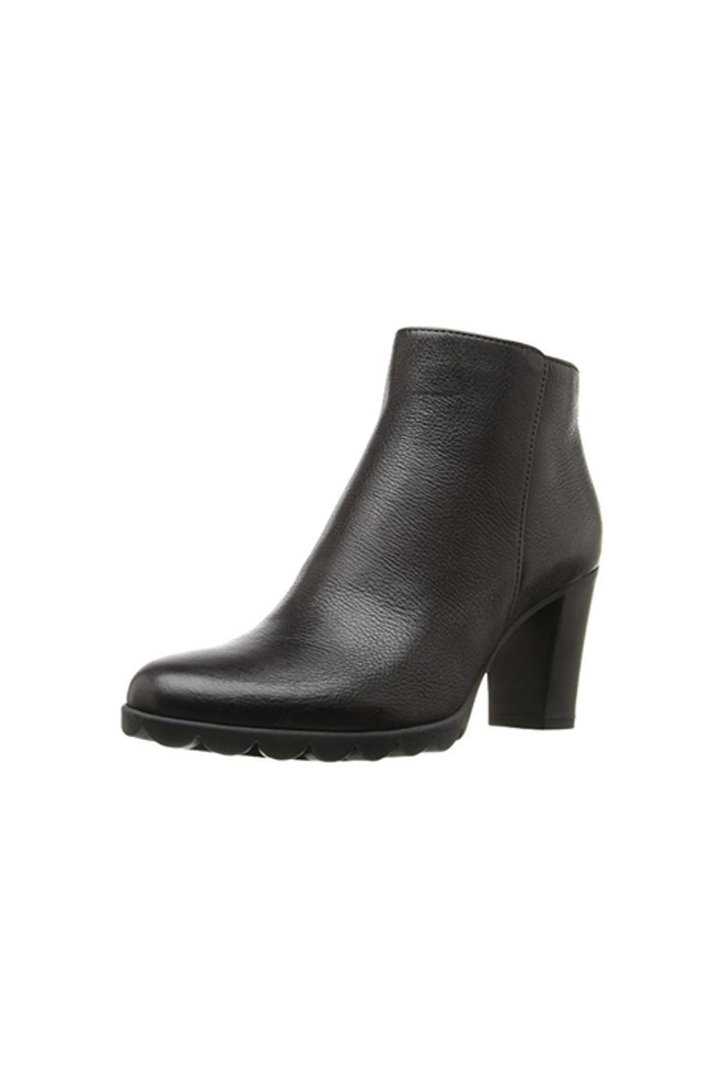 The Flexx Black Leather Boot - Main Image