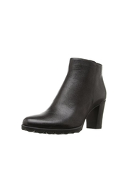 The Flexx Black Leather Boot - Front cropped