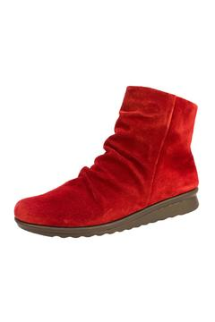 Shoptiques Product: Red Suede Bootie