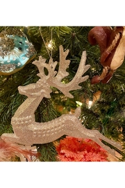 The Gerson Companies Silver Glitter Deer - Product Mini Image