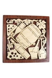 The Gift Hut Wine Lovers Puzzle - Front cropped