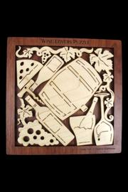 The Gift Hut Wine Lovers Puzzle - Front full body