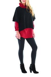The Gift Pod Black Parker Poncho - Product Mini Image