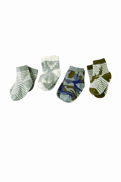The Gift Pod Camo Sock Set - Alternate List Image