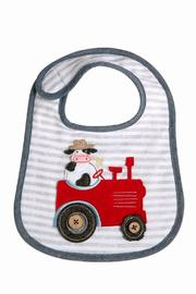 The Gift Pod Cow Tractor Bib - Product Mini Image