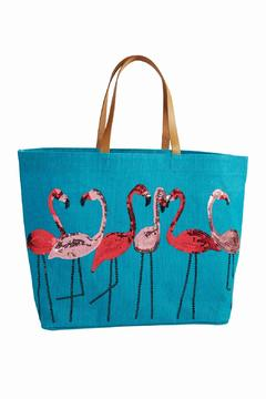 The Gift Pod Flamingo Tote - Product List Image