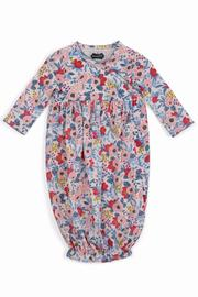 The Gift Pod Floral Sleep Gown - Front cropped
