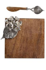 The Gift Pod Hydrangea Cutting Board - Front cropped