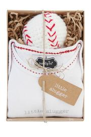 The Gift Pod Little Slugger Outfit - Front cropped