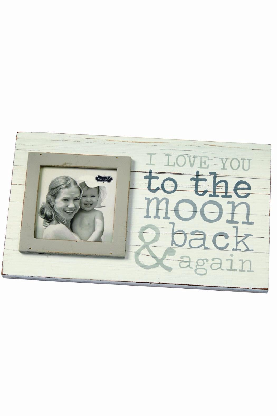 The Gift Pod Moon & Back Frame - Front Cropped Image