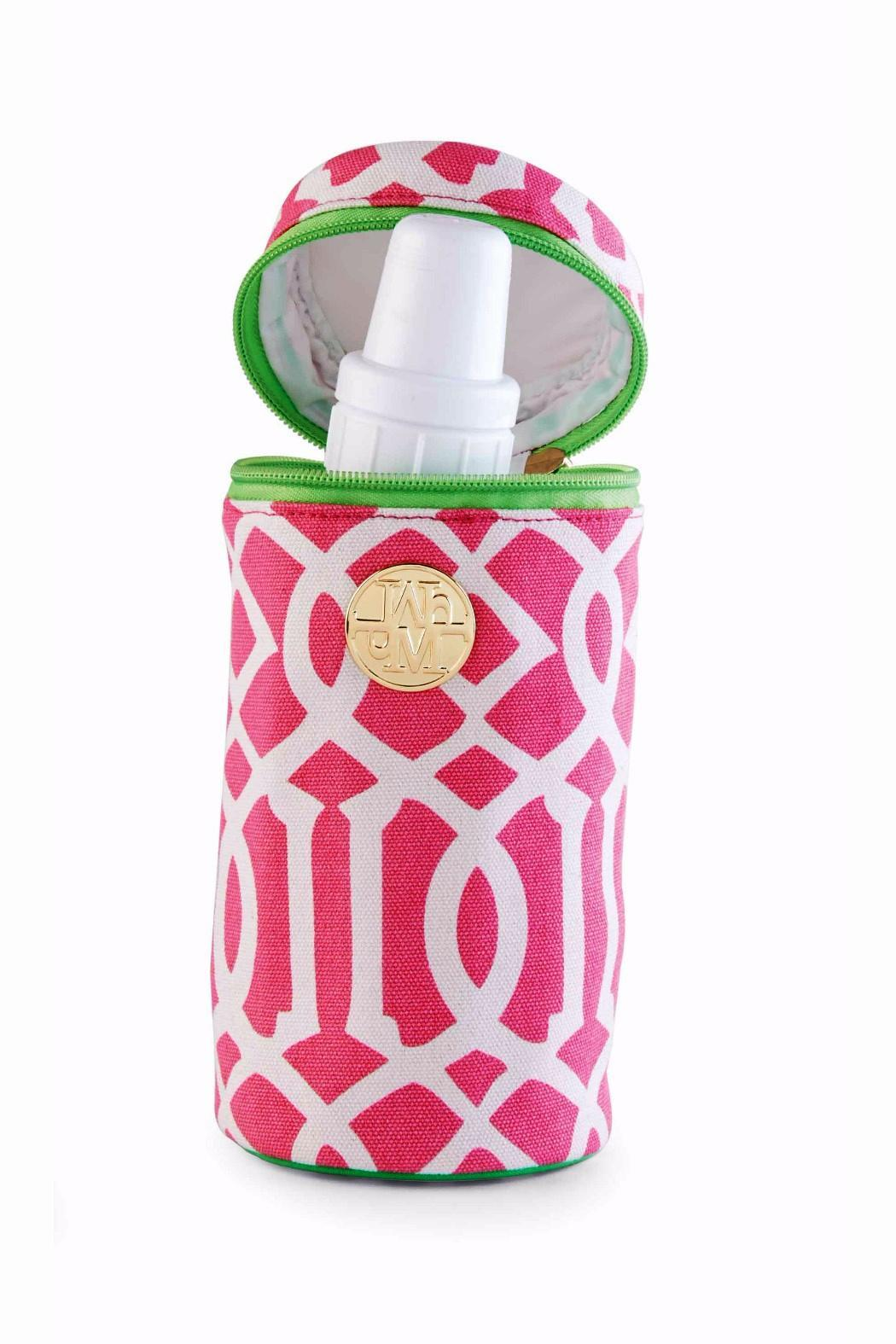 The Gift Pod Pink Bottle Carrier - Main Image
