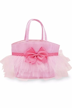 The Gift Pod Seersucker Tulle Tote - Product List Image