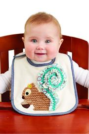 The Gift Pod Squirrel Baby Bib - Product Mini Image