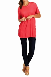 The Gift Pod Watermelon Jersey Tunic - Front cropped