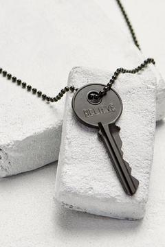 The Giving Keys Black Key Necklace - Product List Image