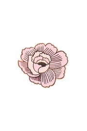 The Good Twin Flower Pin - Front cropped